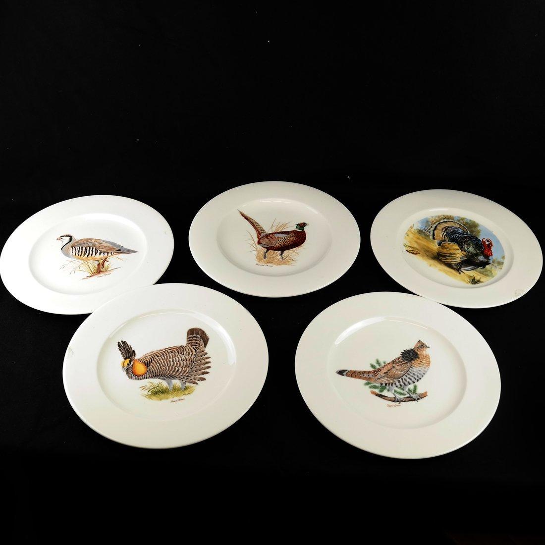 14 Ceramic Bird Decorated Plates - 2