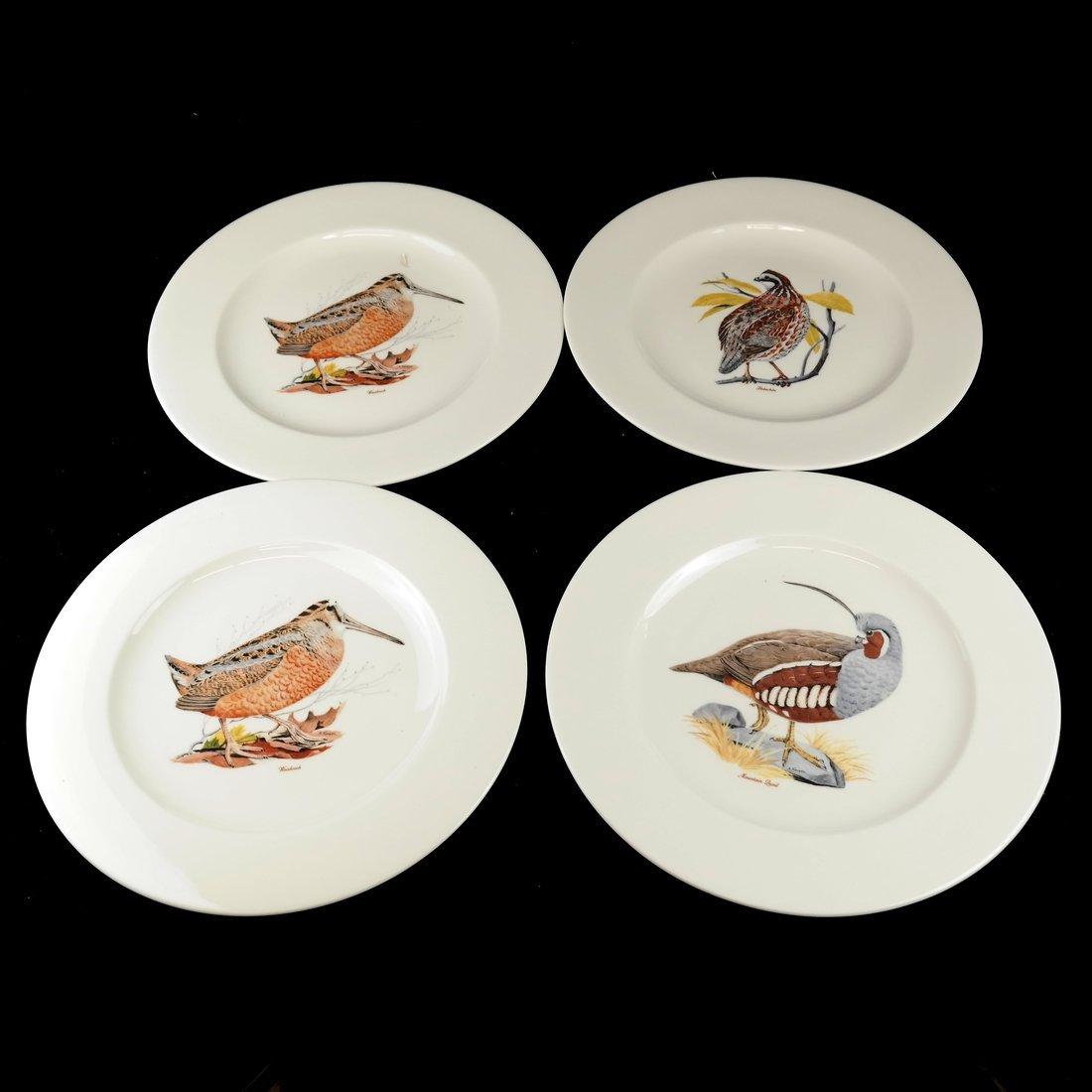 14 Ceramic Bird Decorated Plates - 4