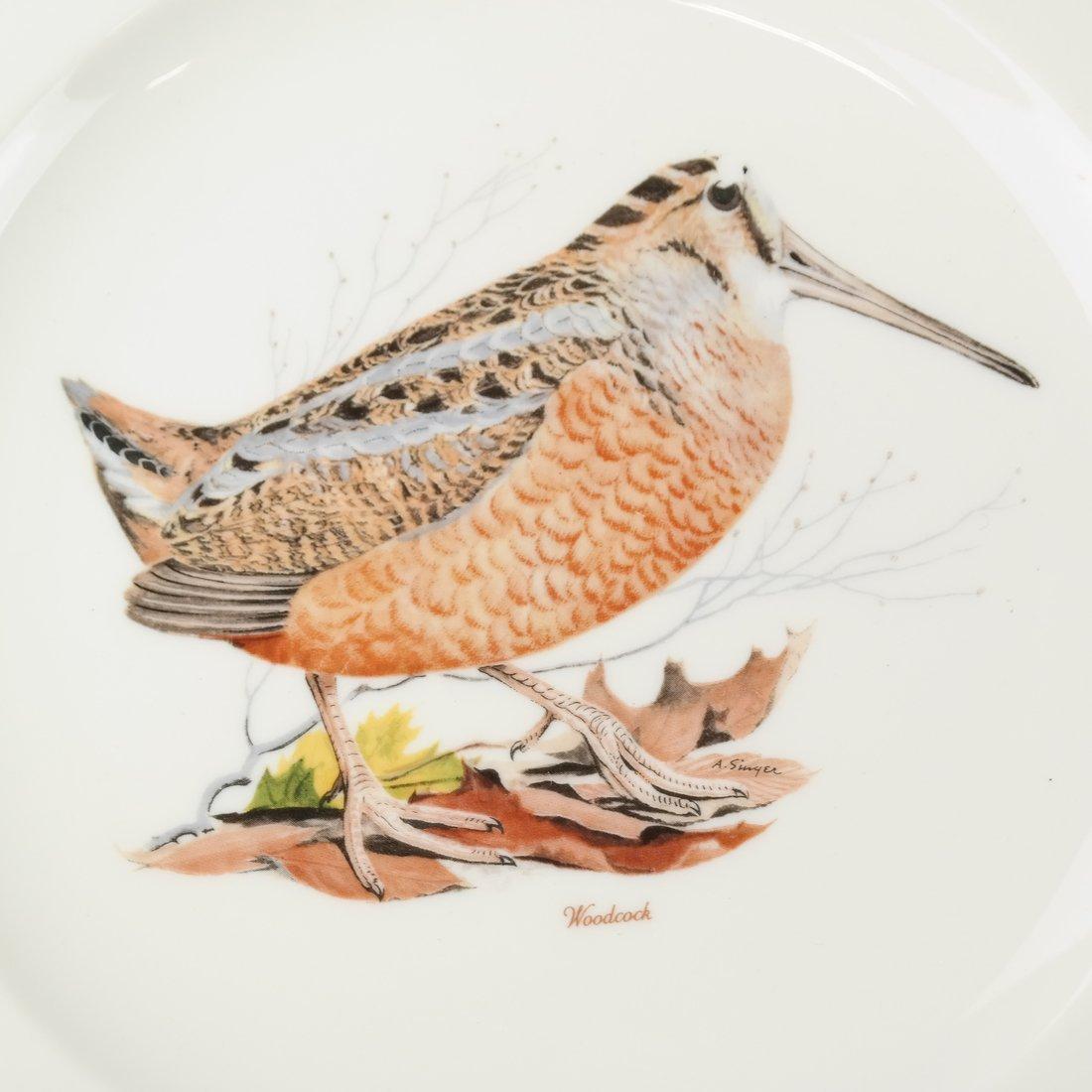 14 Ceramic Bird Decorated Plates - 6