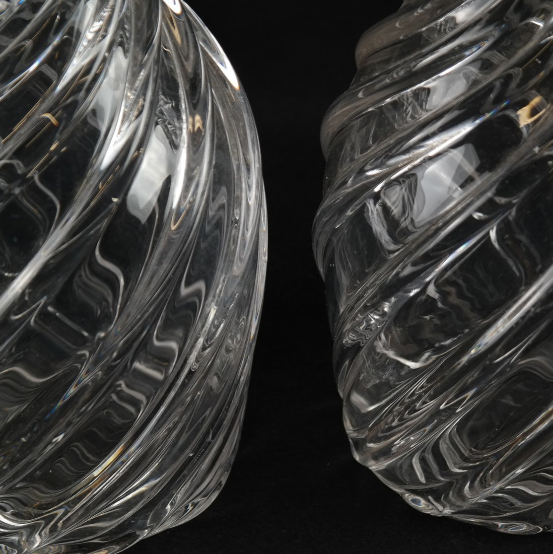 Pair of Glass Decanters - 3