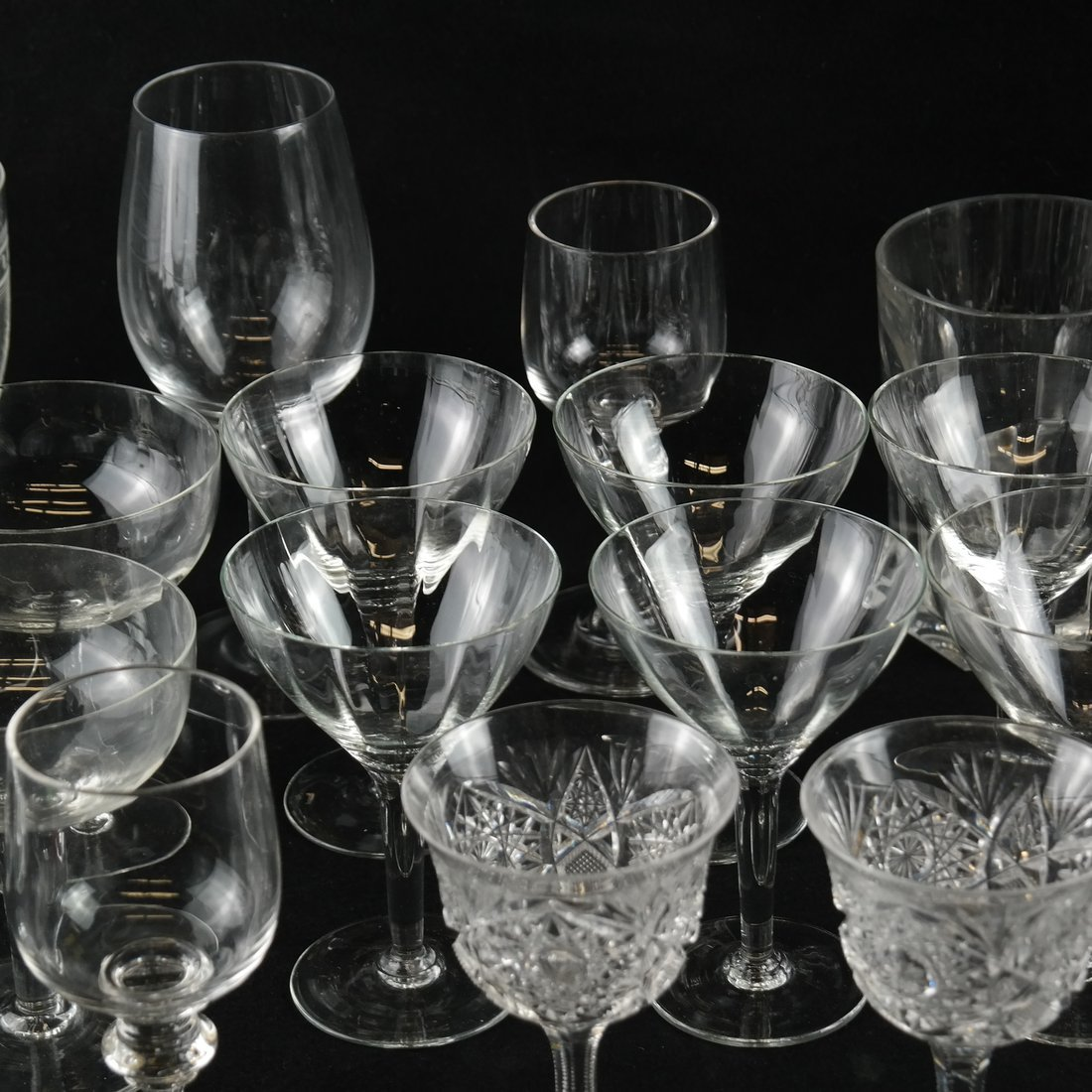 25 Various Glass Stemware - 2