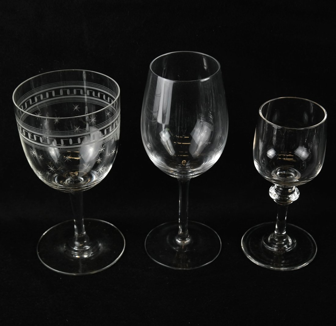 25 Various Glass Stemware - 4
