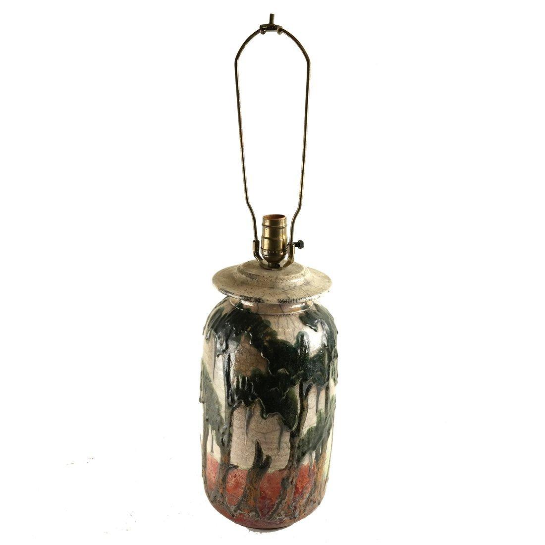 Charles Bohn Ceramic Lamp