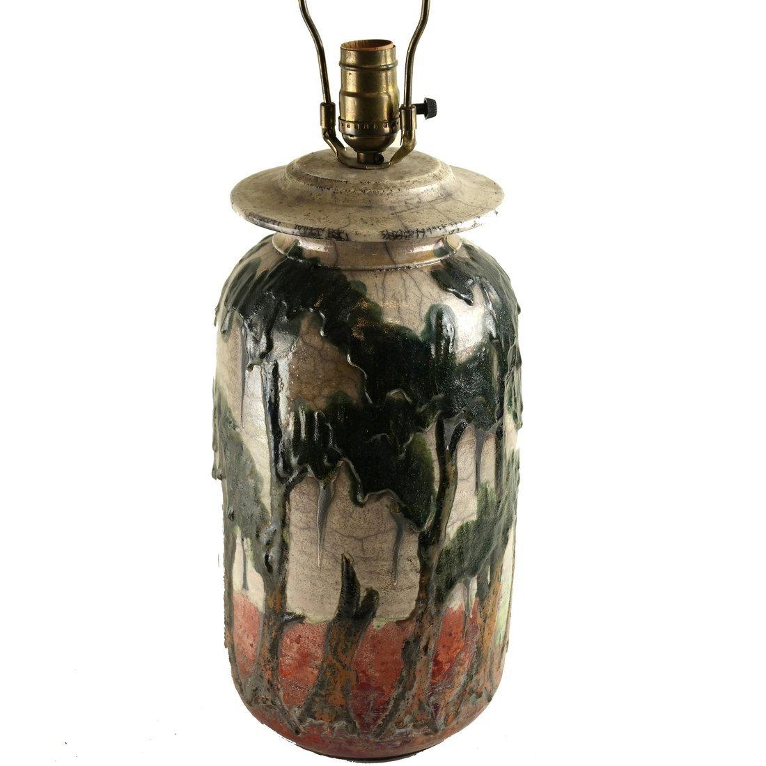 Charles Bohn Ceramic Lamp - 2
