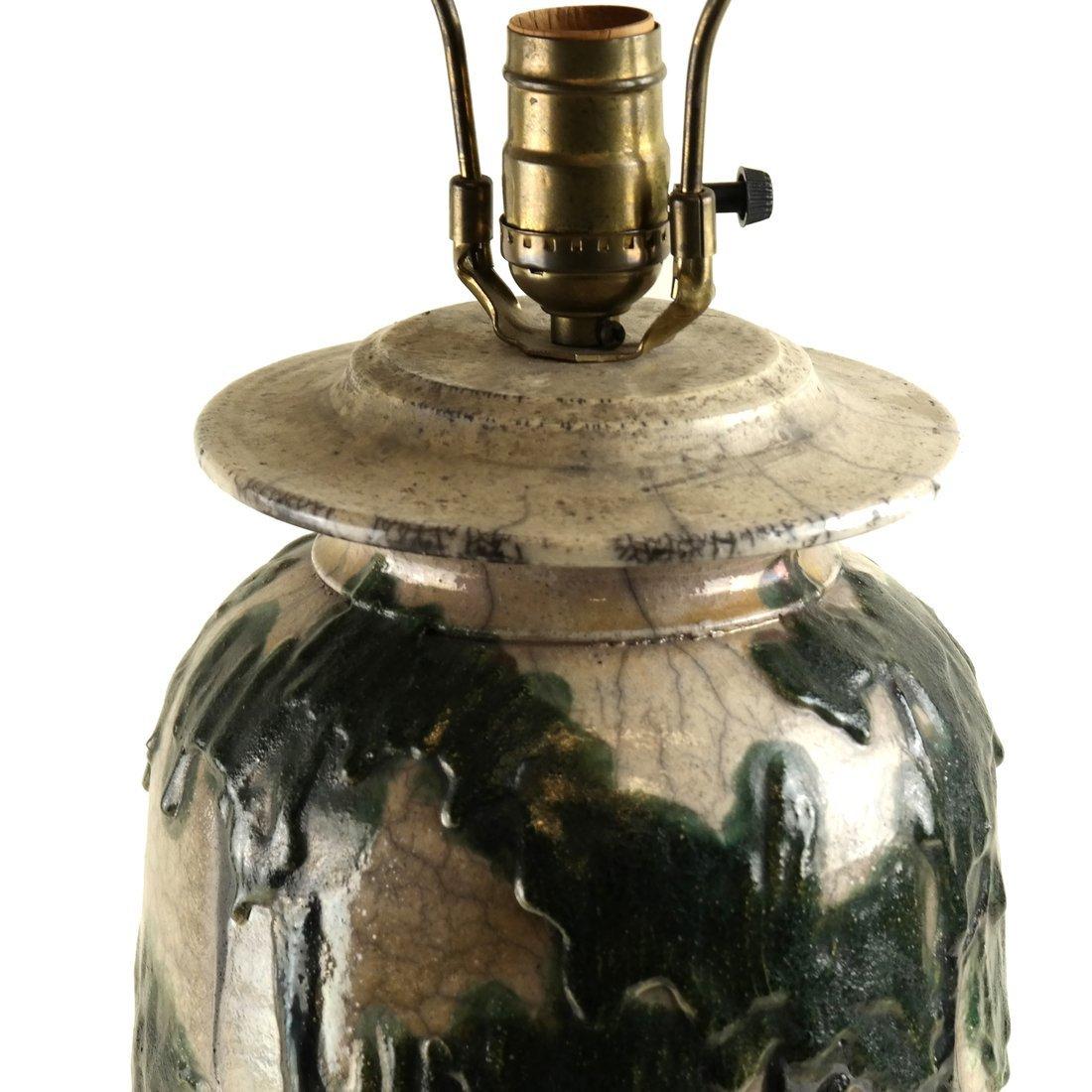 Charles Bohn Ceramic Lamp - 3