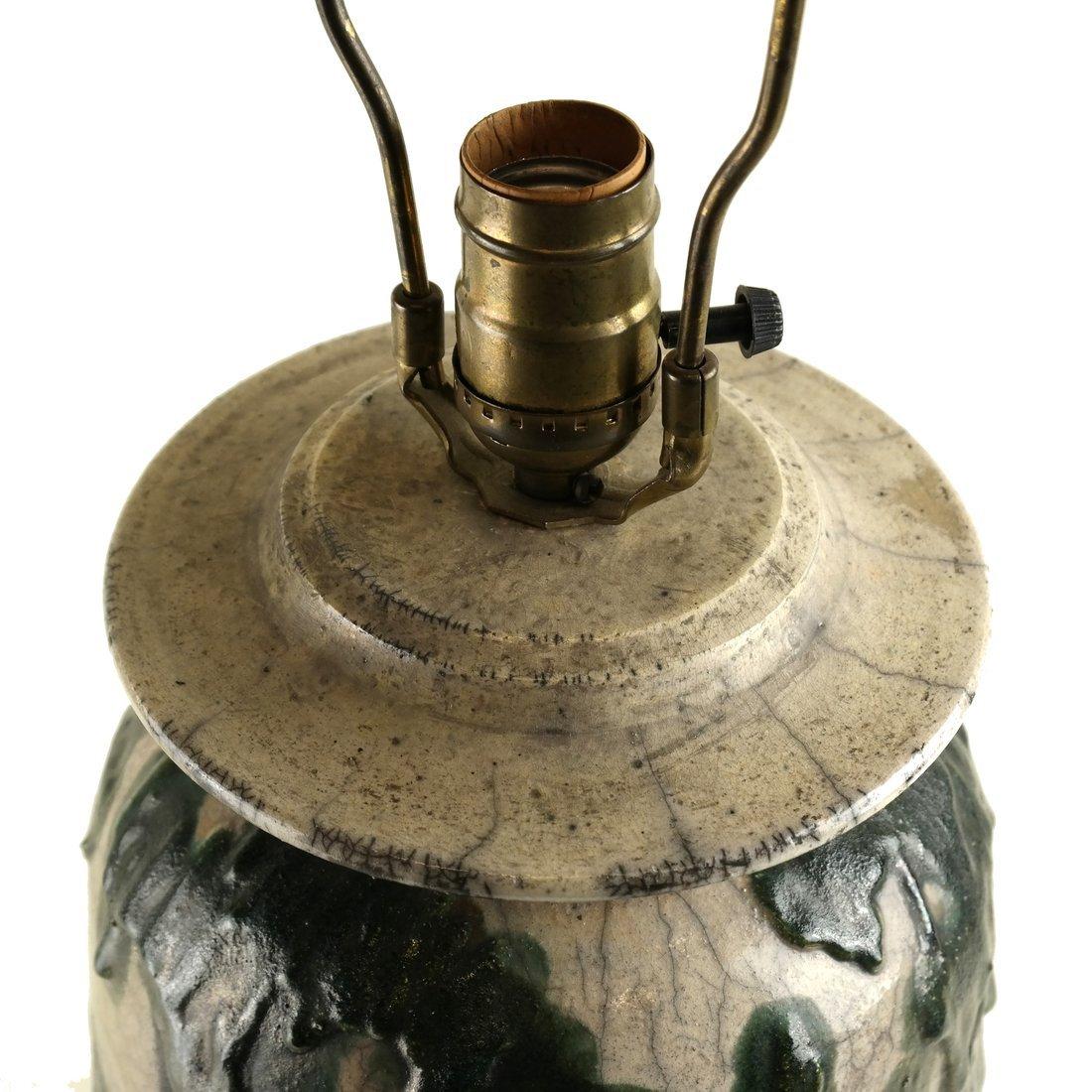 Charles Bohn Ceramic Lamp - 4