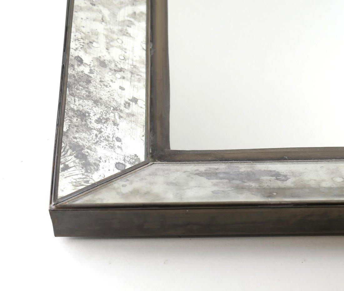 Pair of Metal Framed Mirrors - 3