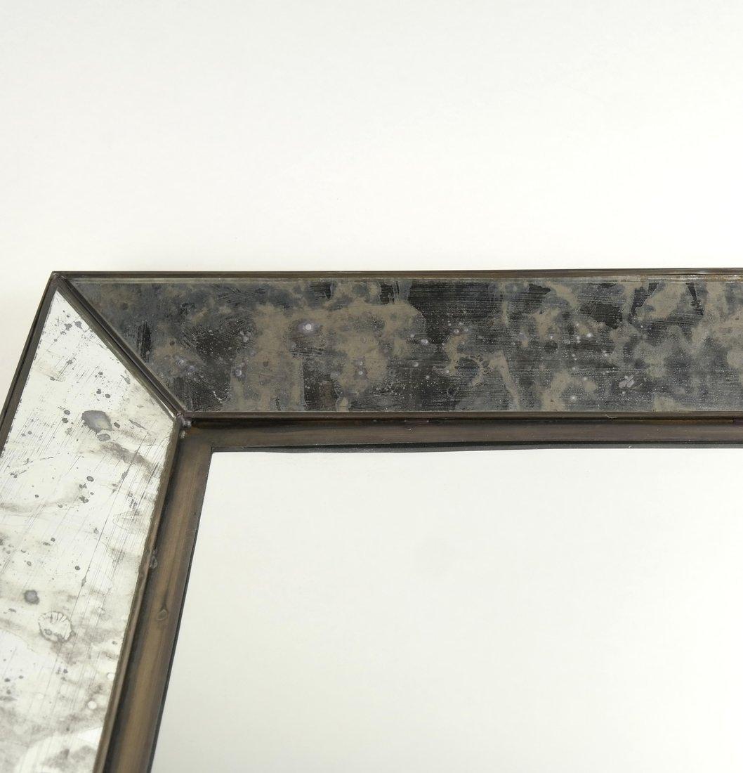Pair of Metal Framed Mirrors - 4