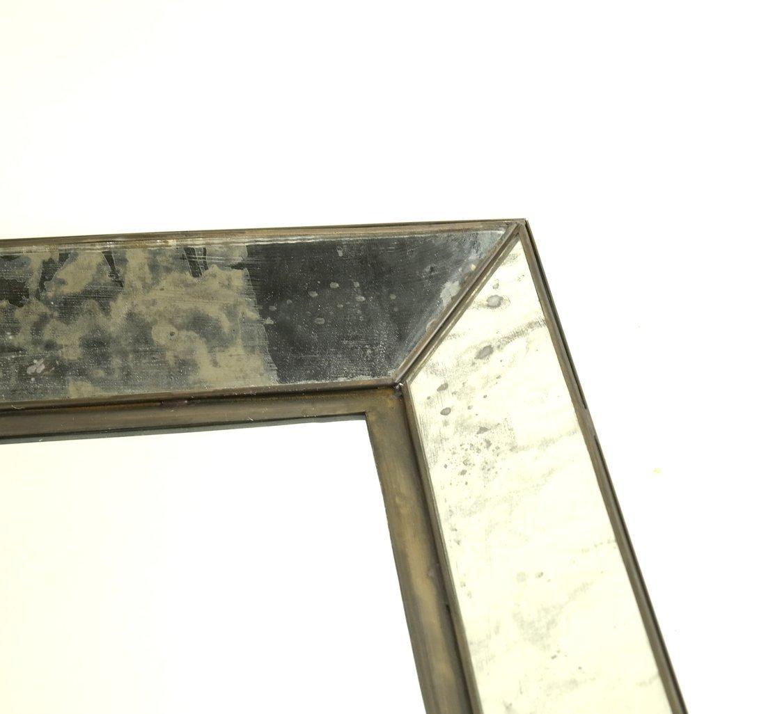 Pair of Metal Framed Mirrors - 5