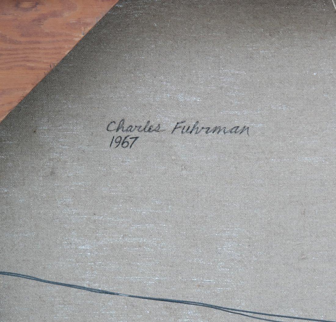 Charles Fuhrman, Abstract, O/C - 7
