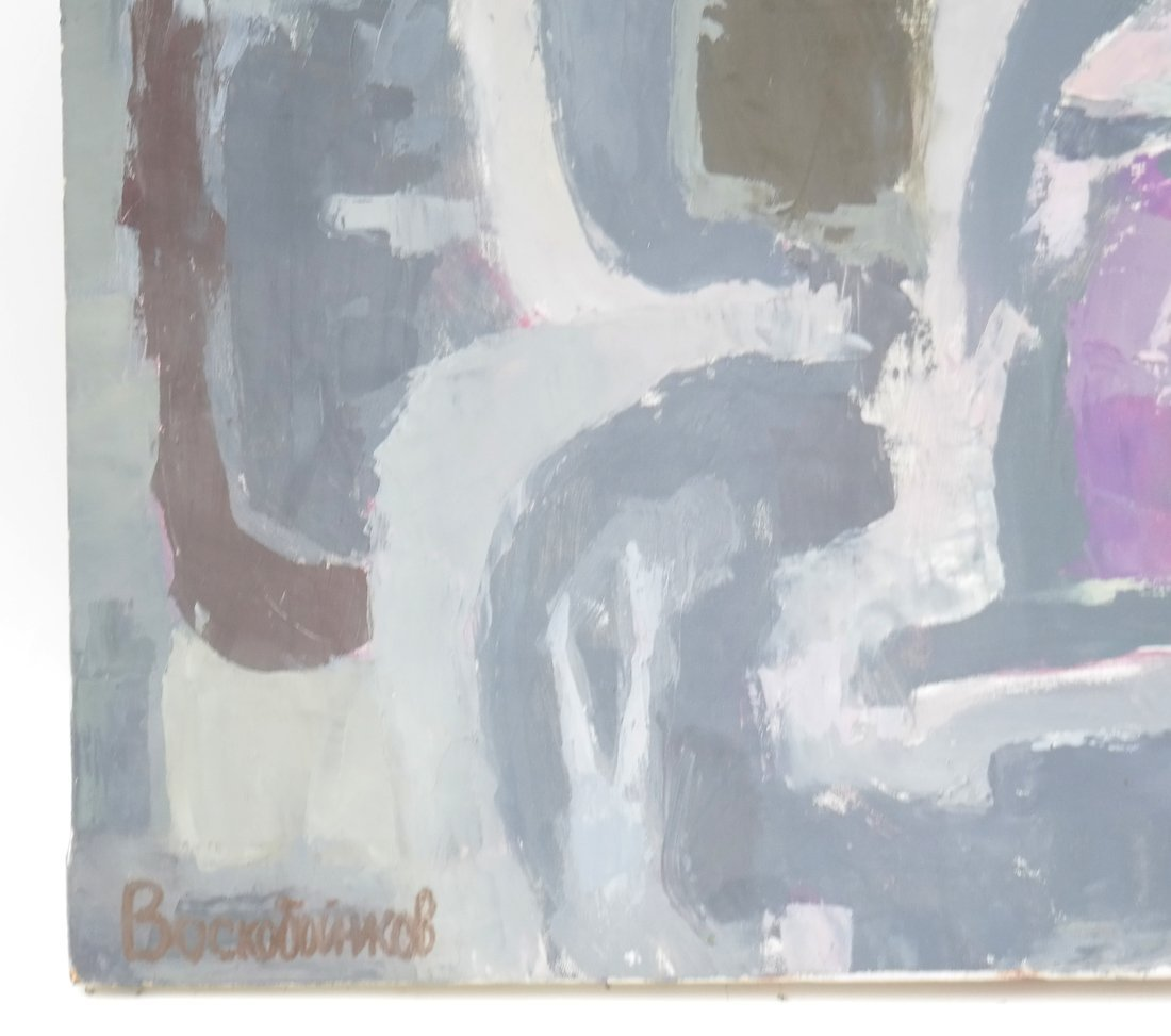 Russian Abstract, Oil on Canvas - 3