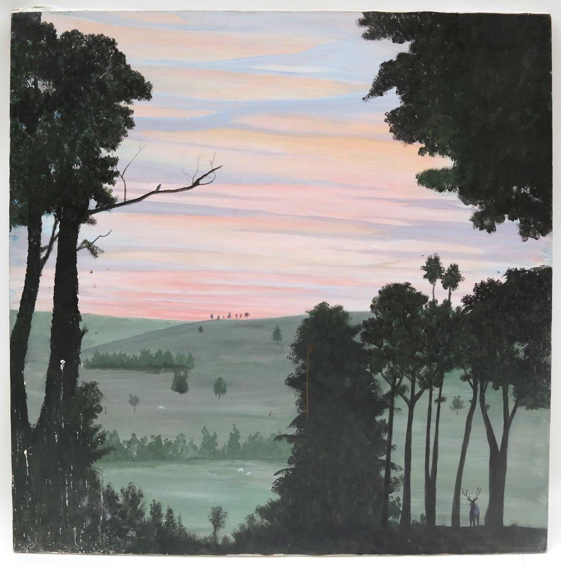 Harold Sohlberg, Sunset - 2