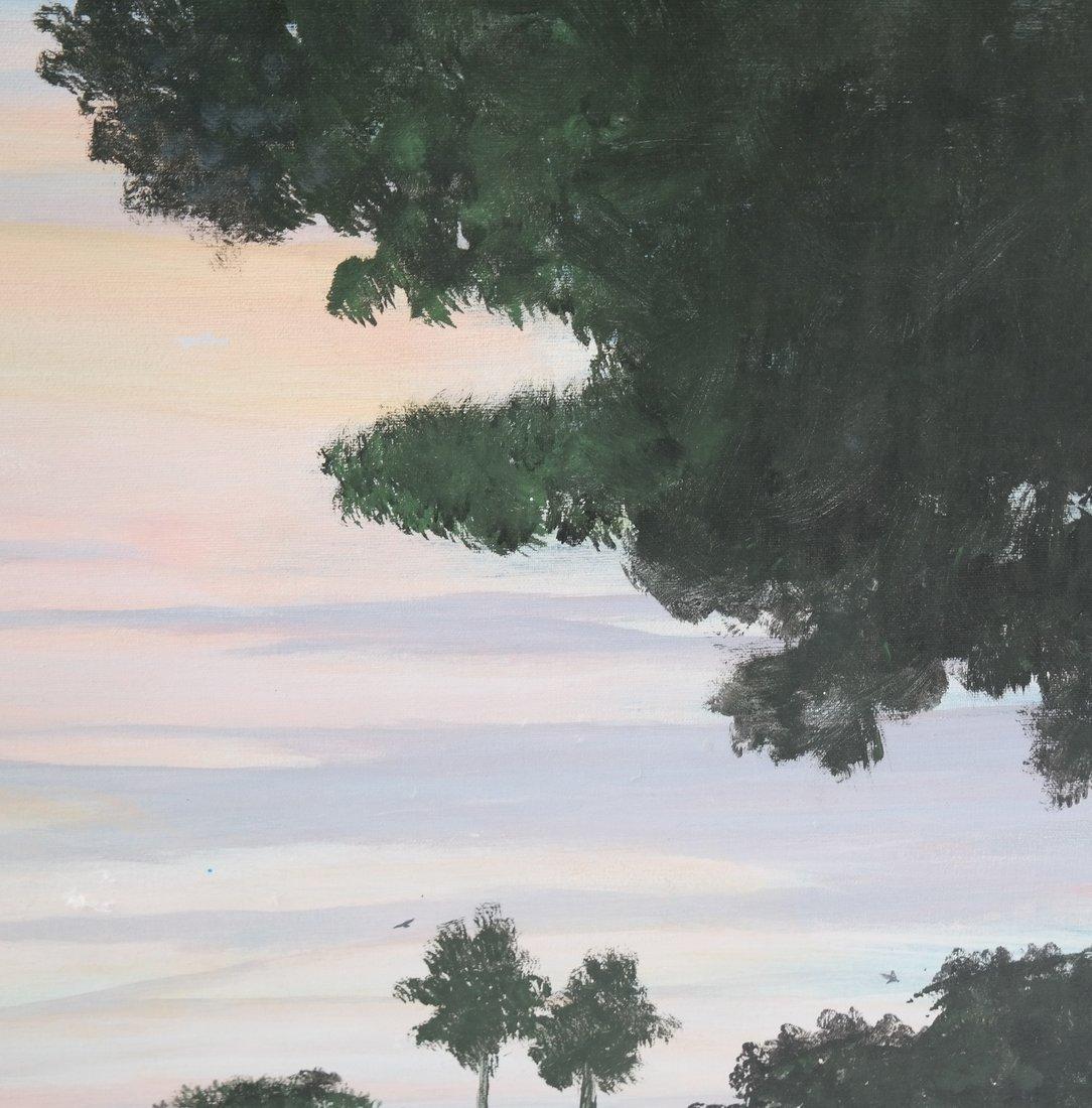 Harold Sohlberg, Sunset - 5