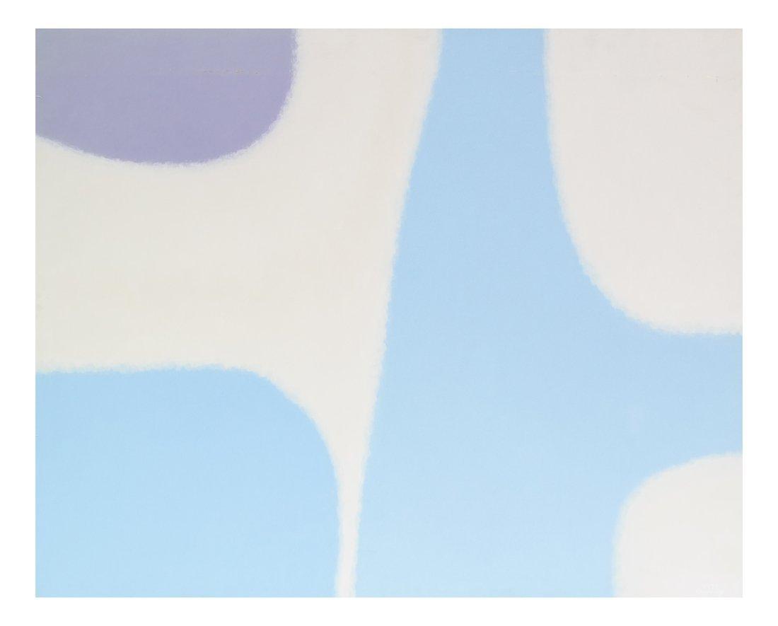 Amy Adams, Sky, Oil on Canvas