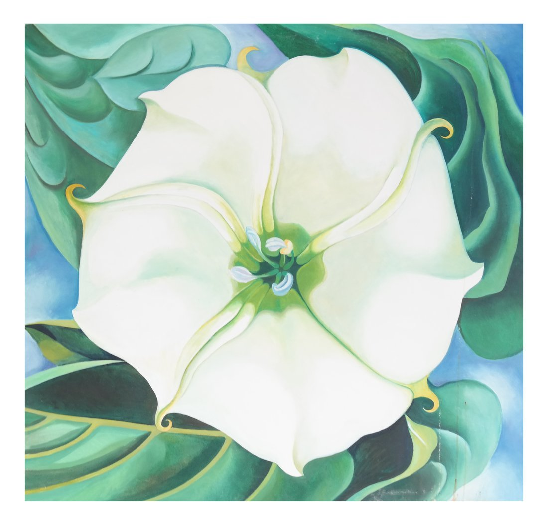 After Georgia O'Keeffe, Jimson Weed