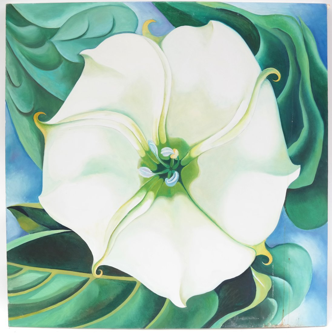 After Georgia O'Keeffe, Jimson Weed - 2