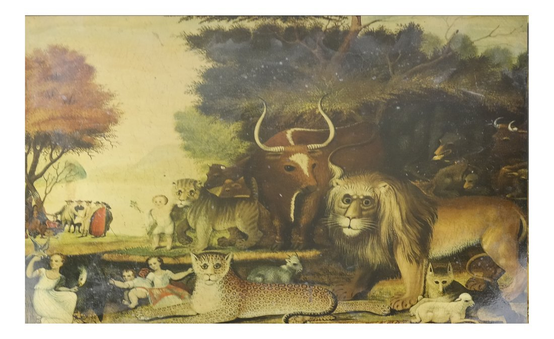 After Hicks, Peaceable Kingdom, Print