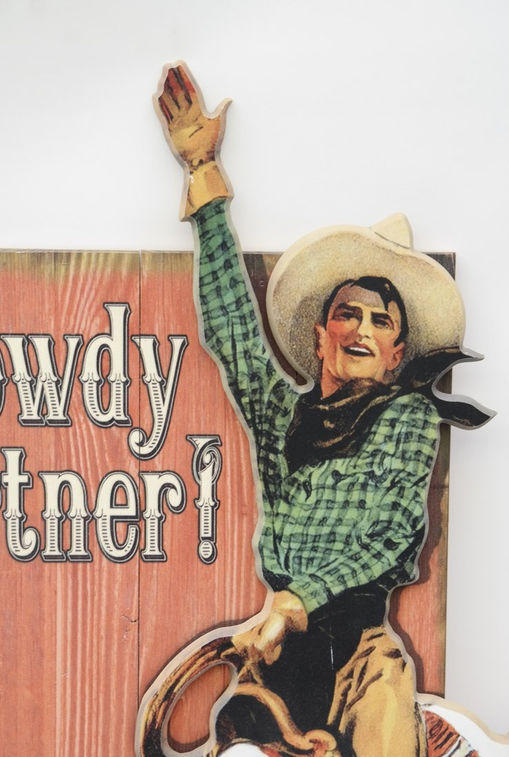 """Howdy Partner"", Offset Lithograph - 2"