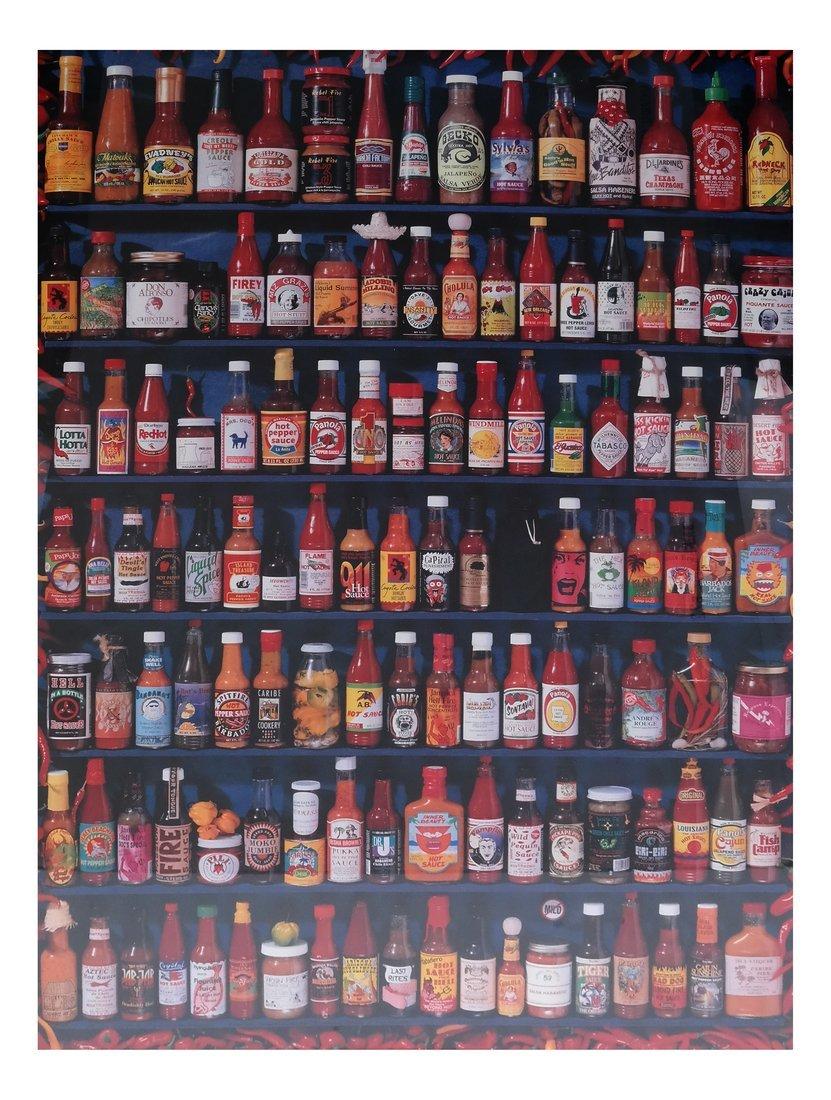 Serial Art Poster: Bottles