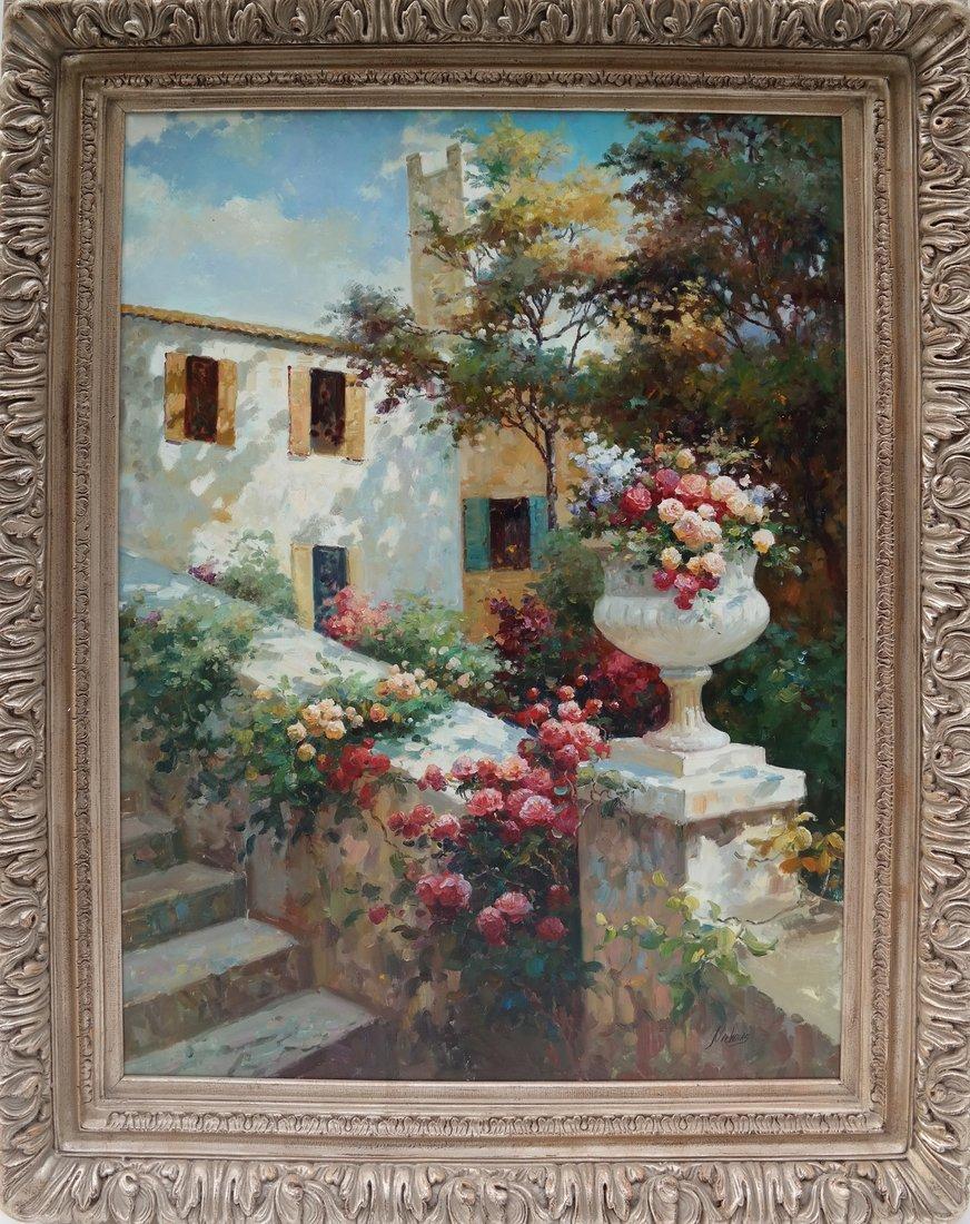 Nochoias, A Garden, O/C - 2