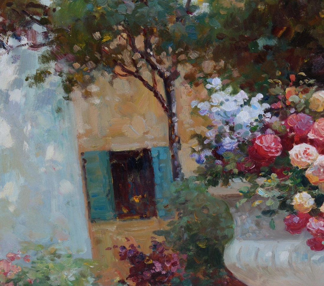 Nochoias, A Garden, O/C - 5