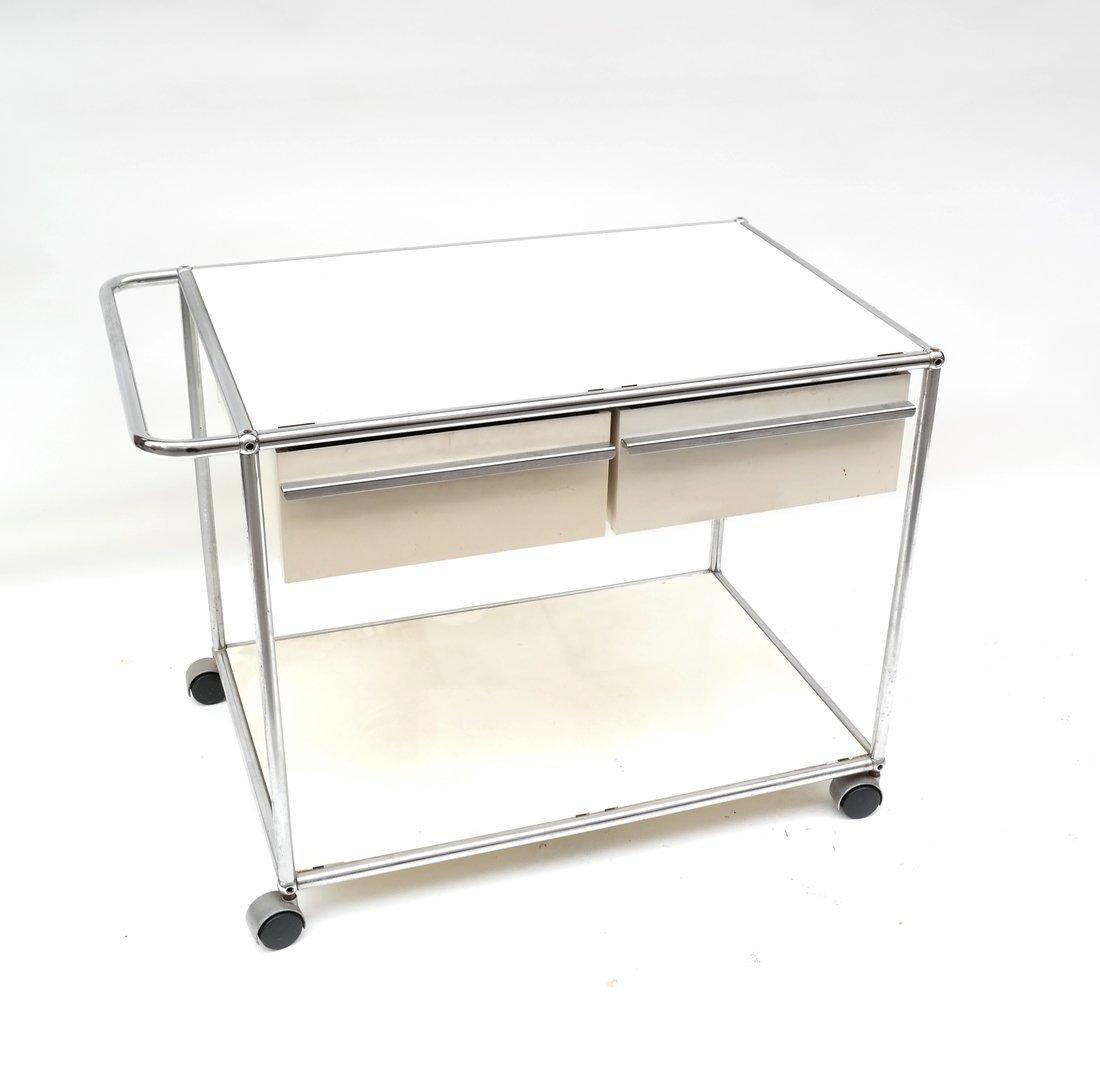 Modern Two Drawer Cart