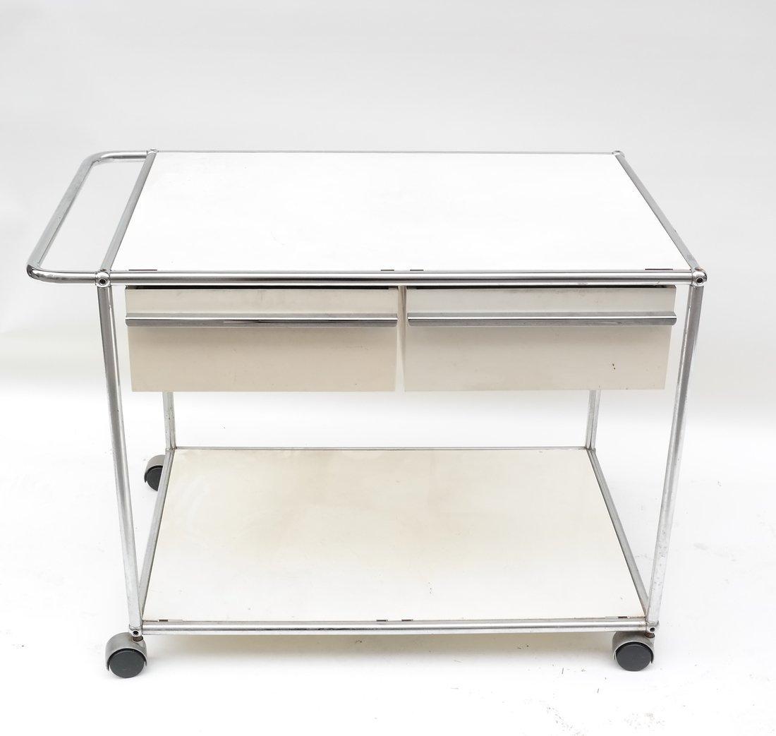 Modern Two Drawer Cart - 2