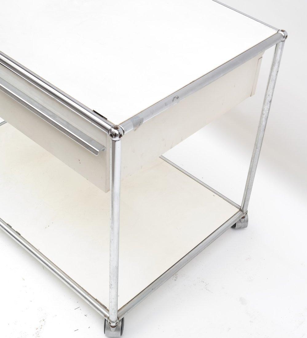 Modern Two Drawer Cart - 6