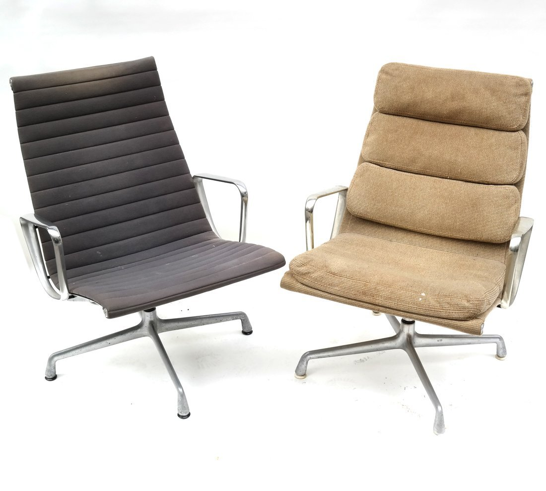 Two Herman Miller Swivel Chairs