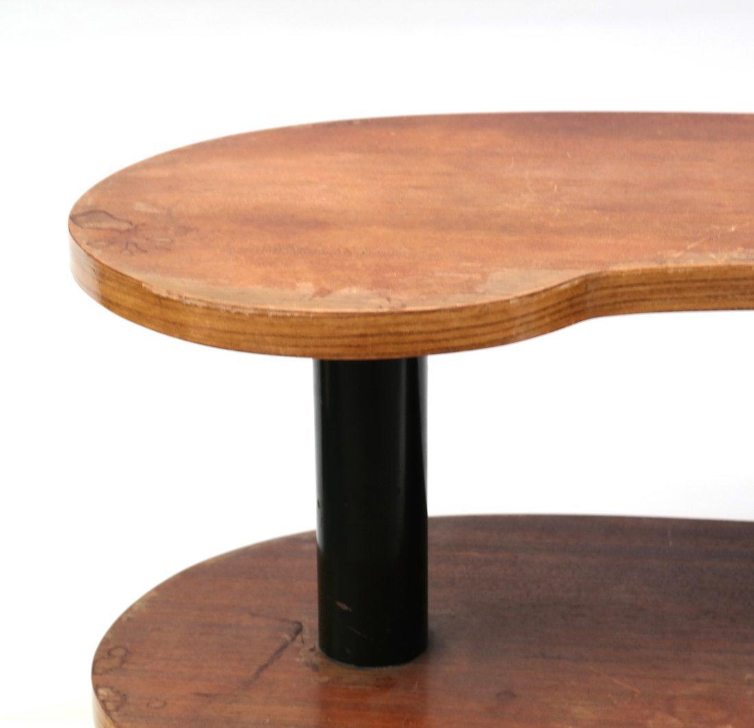 Modern Kidney-Form Three Tier Table - 3