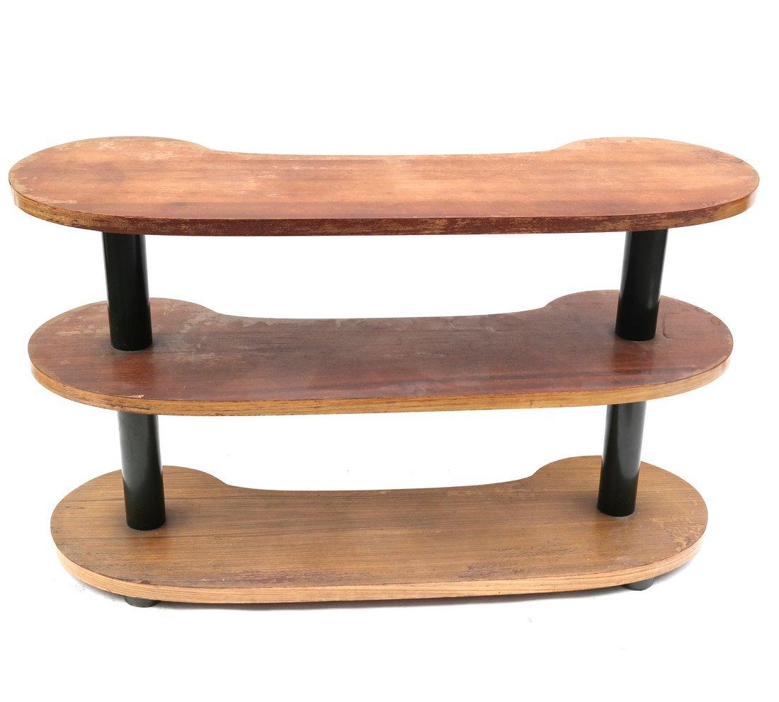 Modern Kidney-Form Three Tier Table - 6