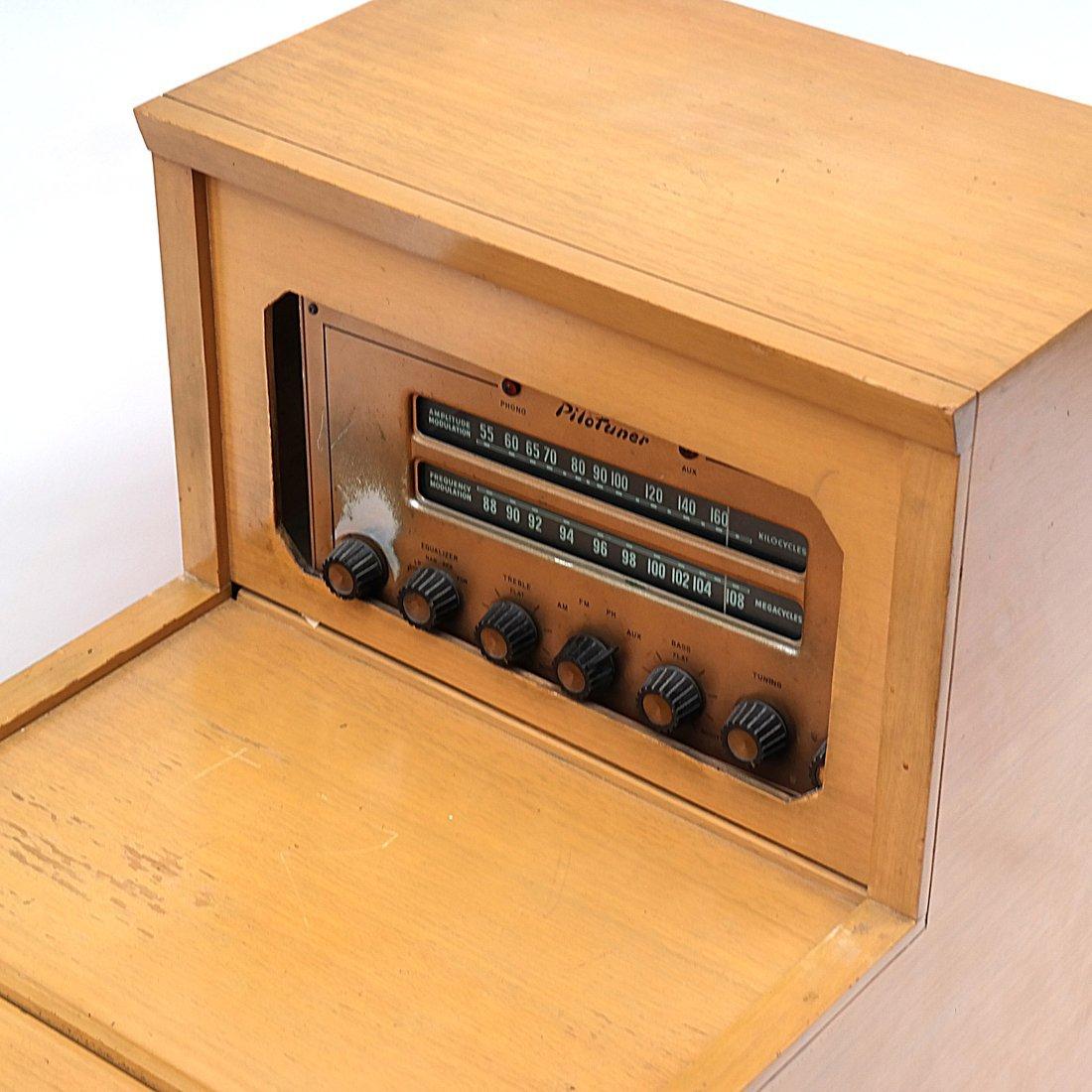 Vintage Radio Table - 2