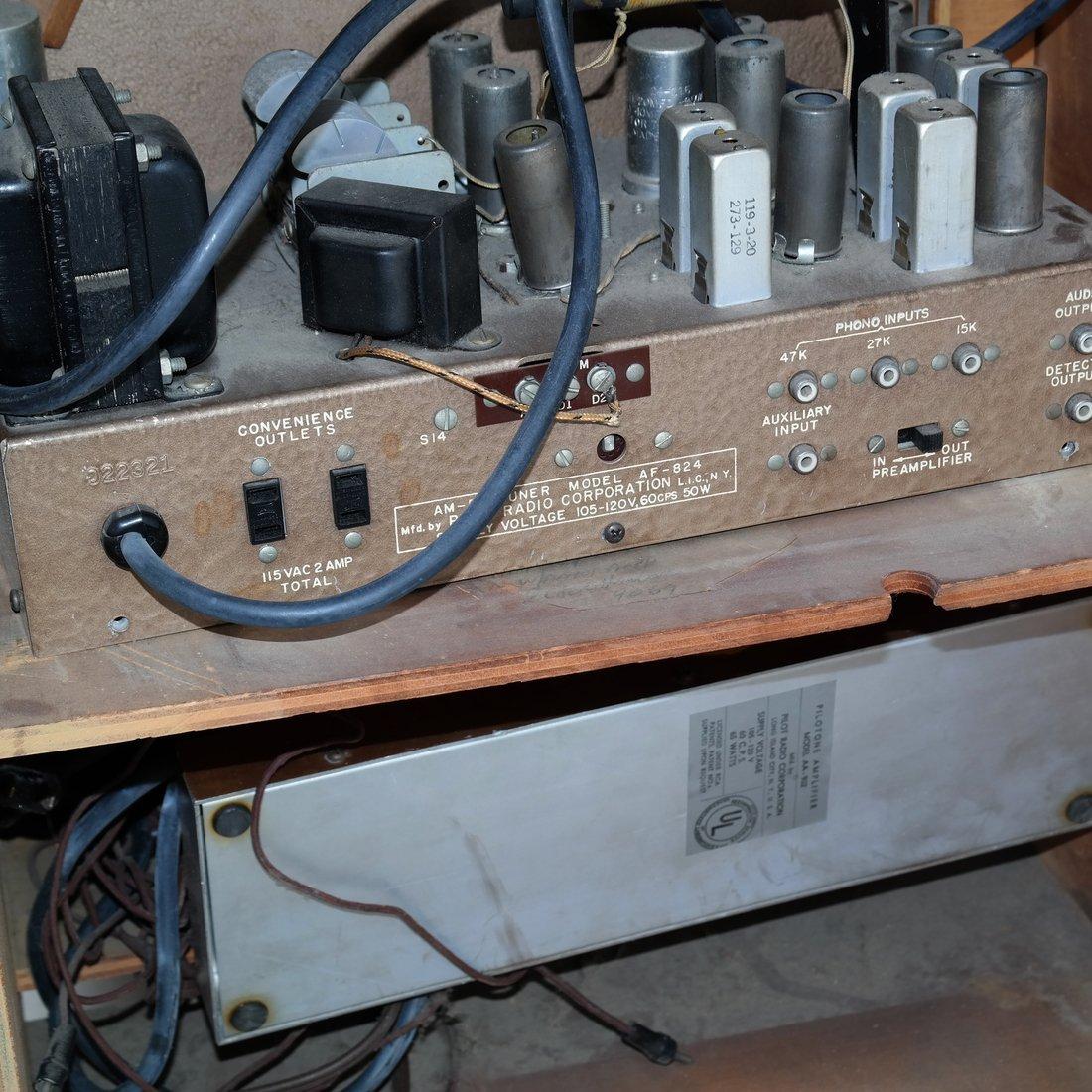 Vintage Radio Table - 8