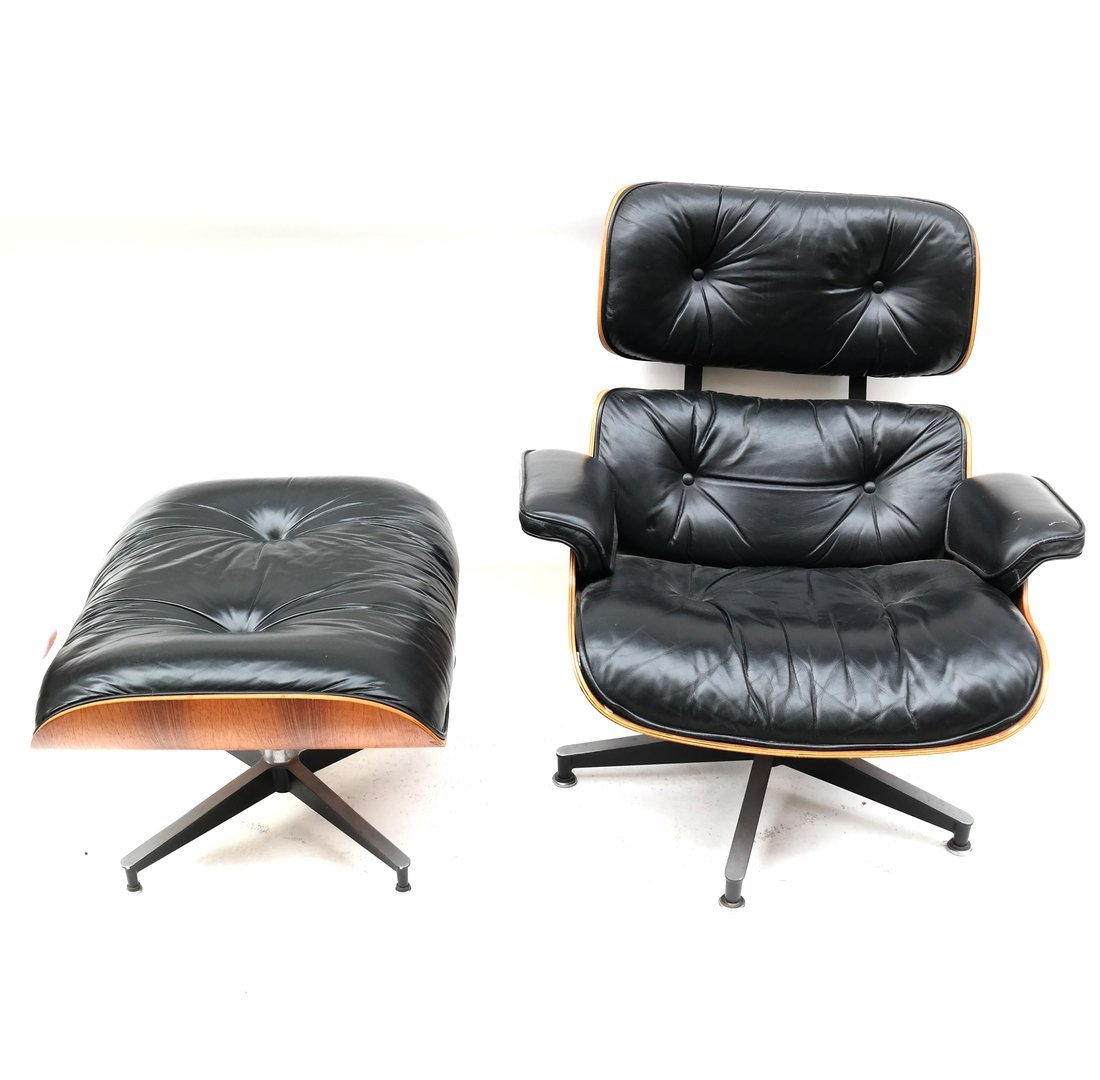 Herman Miller Eames Chair & Ottoman - 2