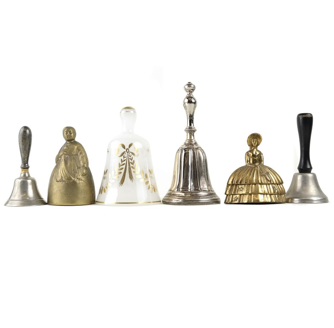 Seven Various Decorative Bells - 2