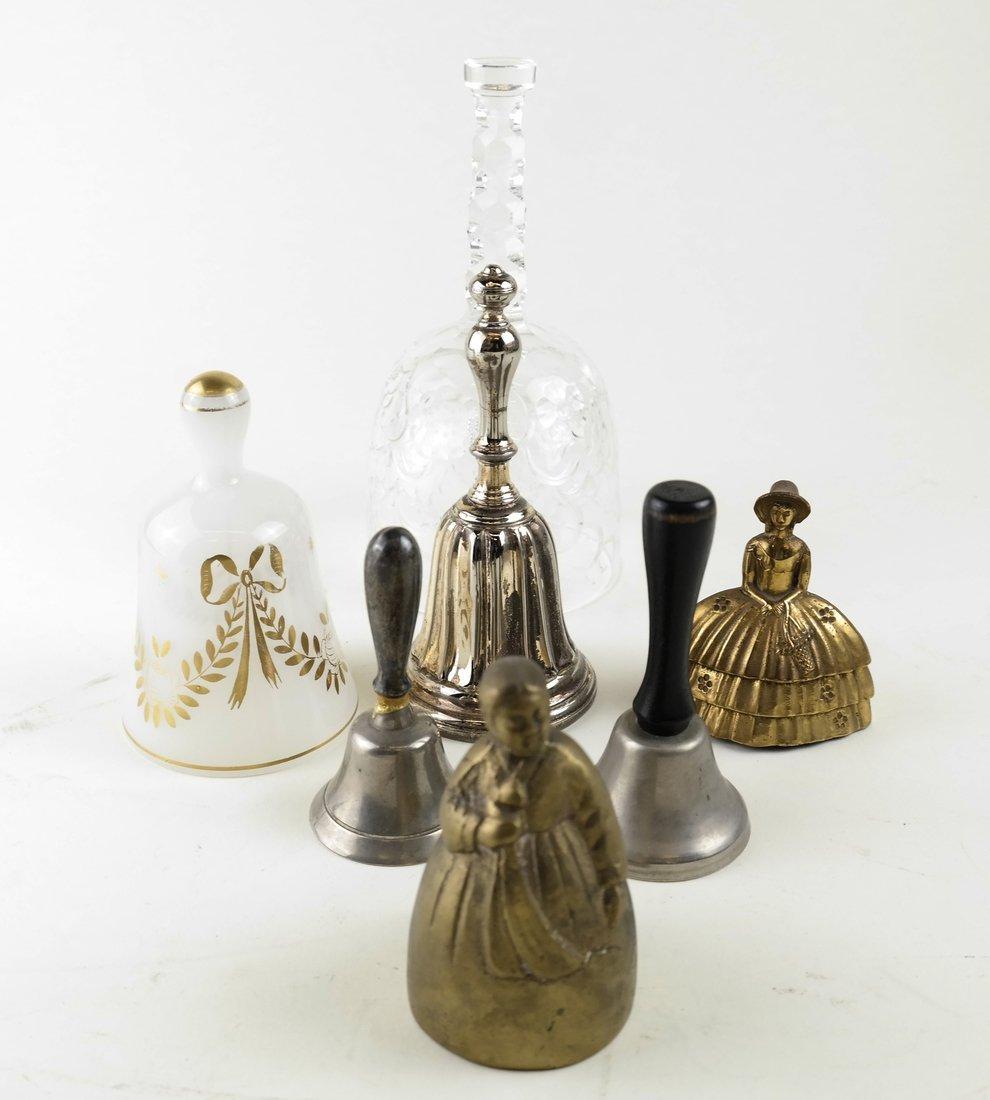 Seven Various Decorative Bells - 3