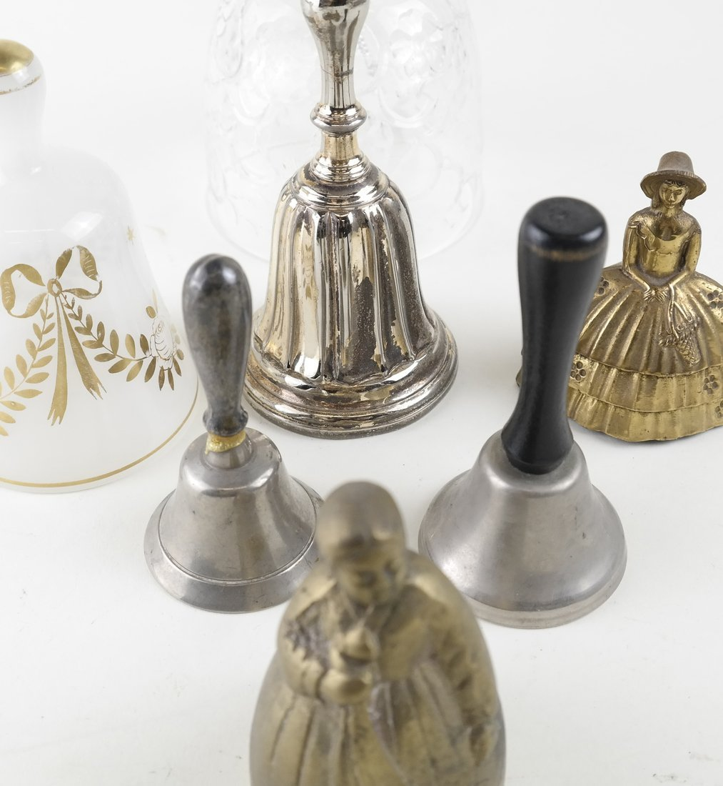 Seven Various Decorative Bells - 4