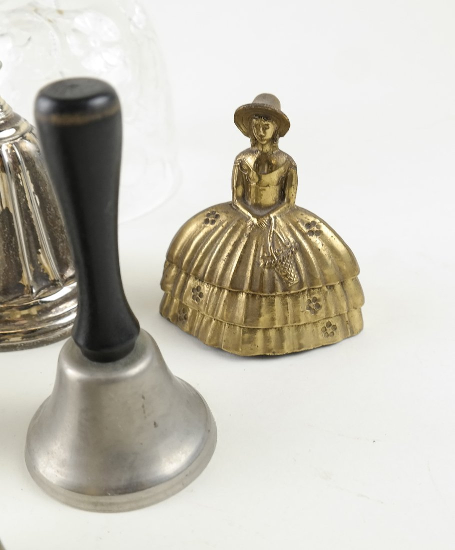 Seven Various Decorative Bells - 5