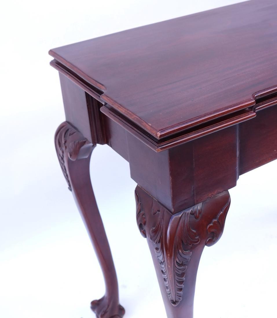 Georgian-Style Games Table - 5