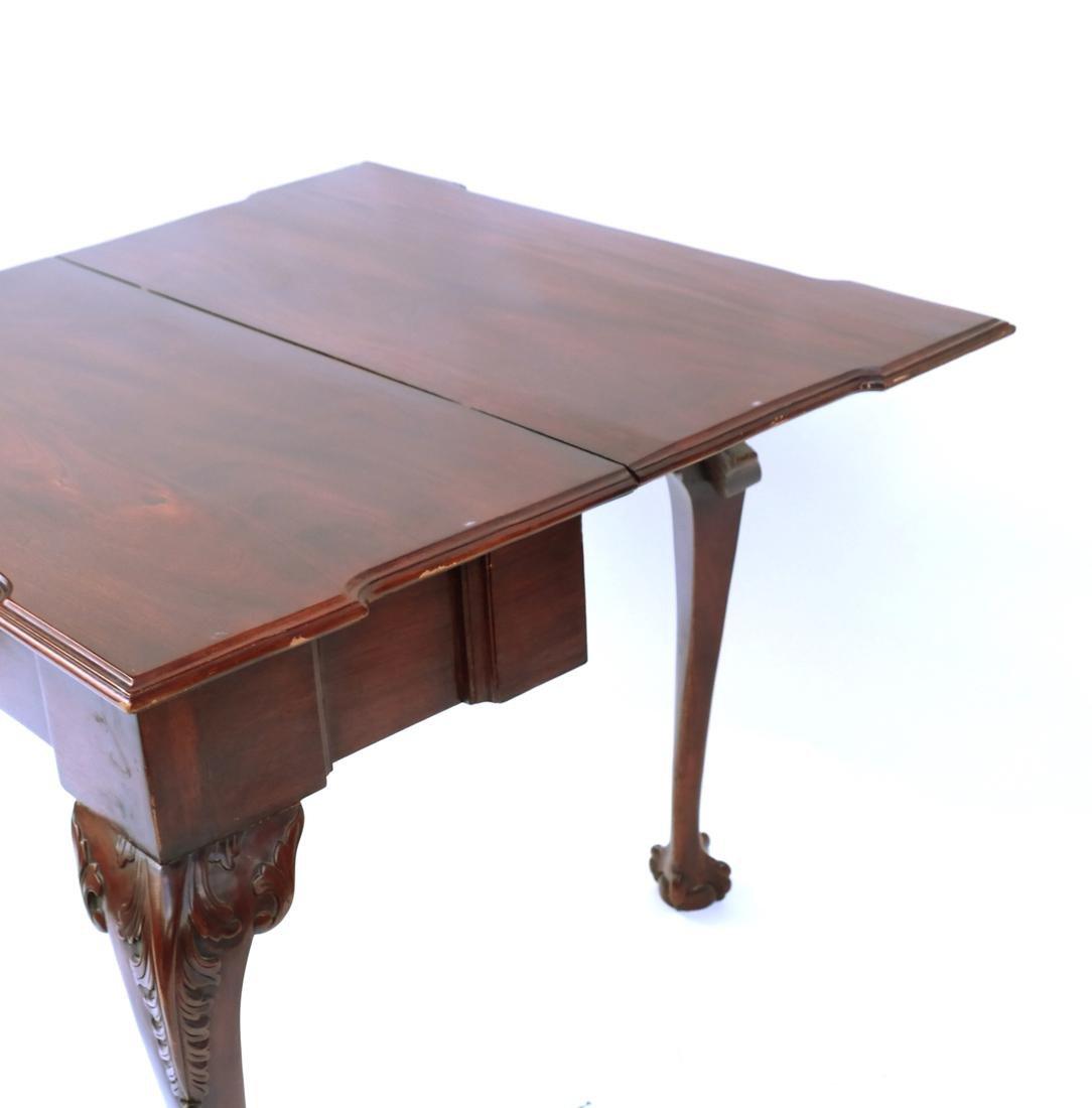 Georgian-Style Games Table - 7
