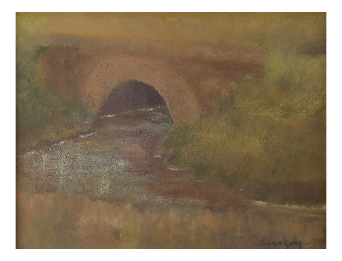 Gwen Long, A Bridge & Stream