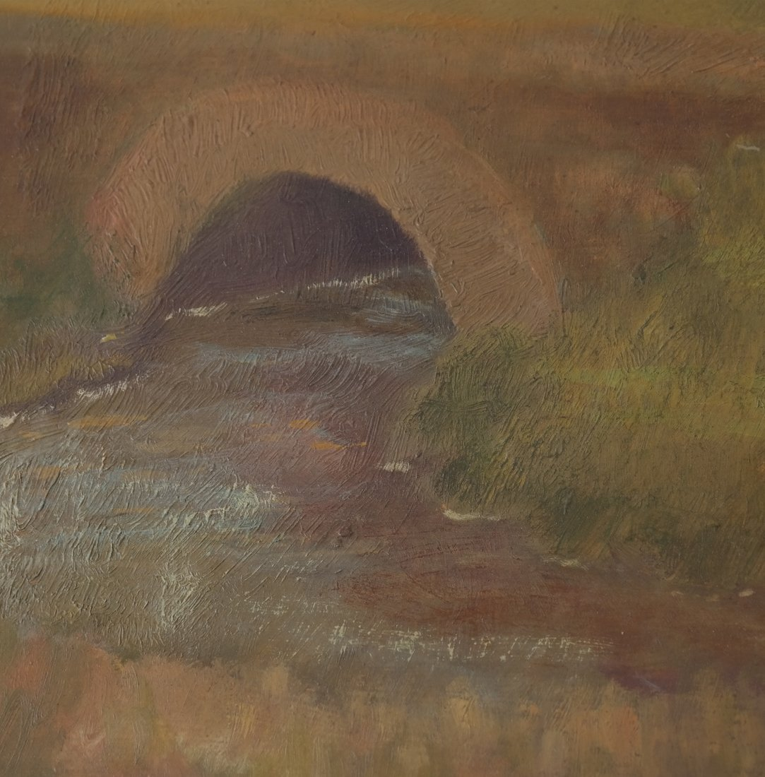 Gwen Long, A Bridge & Stream - 4