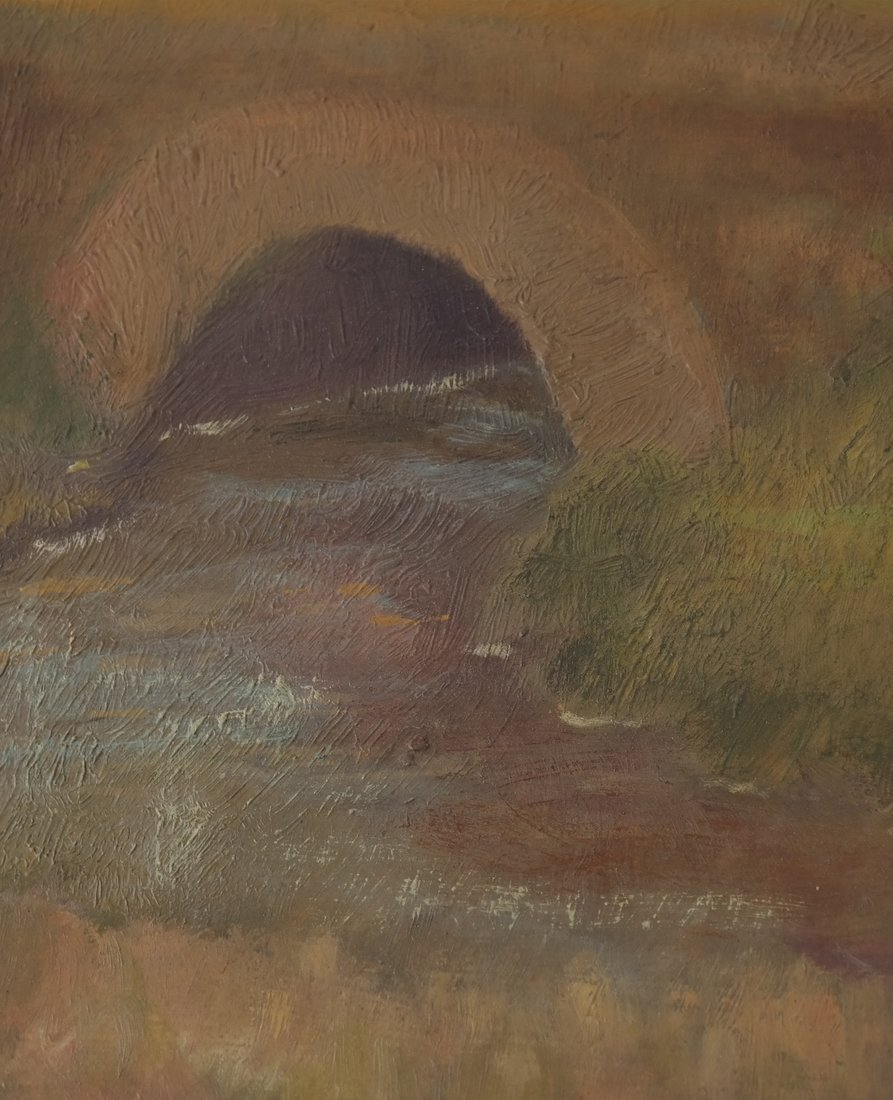 Gwen Long, A Bridge & Stream - 5