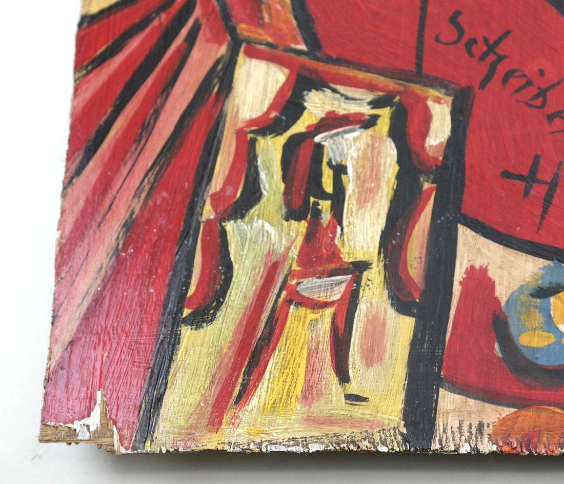 After Hugo Scheiber, Abstract, O/B - 4