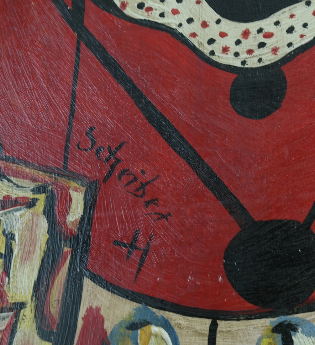 After Hugo Scheiber, Abstract, O/B - 5