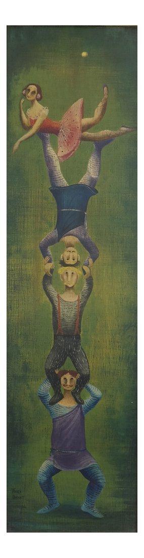 Marta Becket, Circus Performers