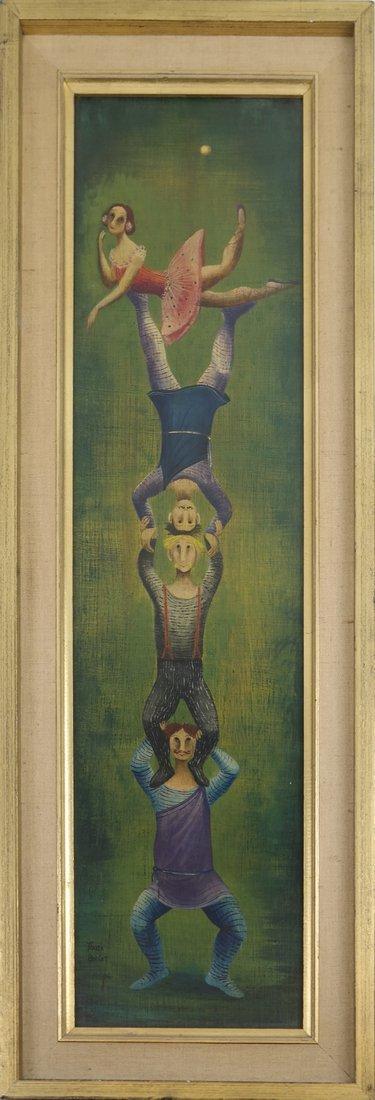 Marta Becket, Circus Performers - 2