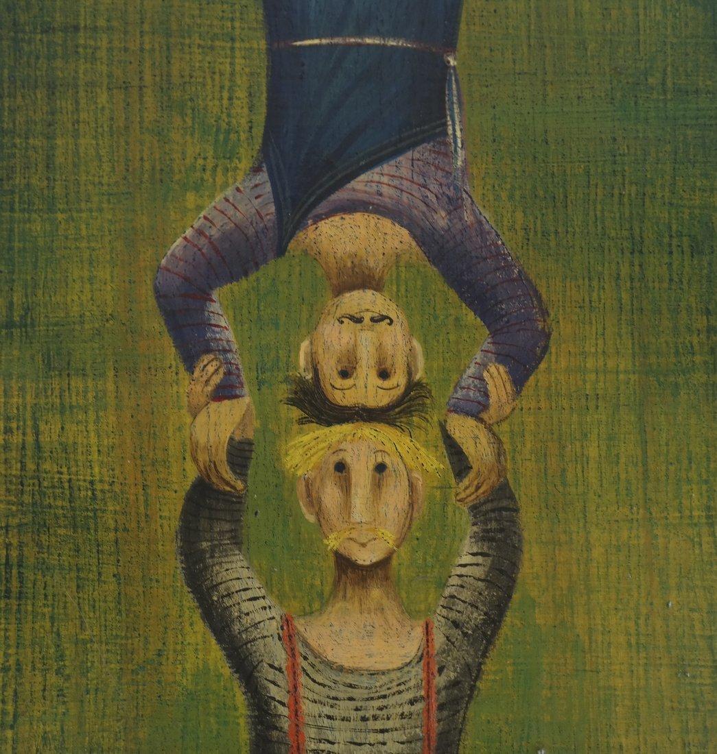 Marta Becket, Circus Performers - 4