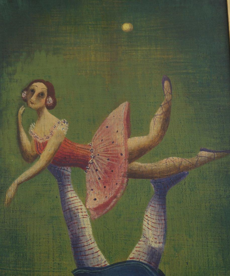 Marta Becket, Circus Performers - 5