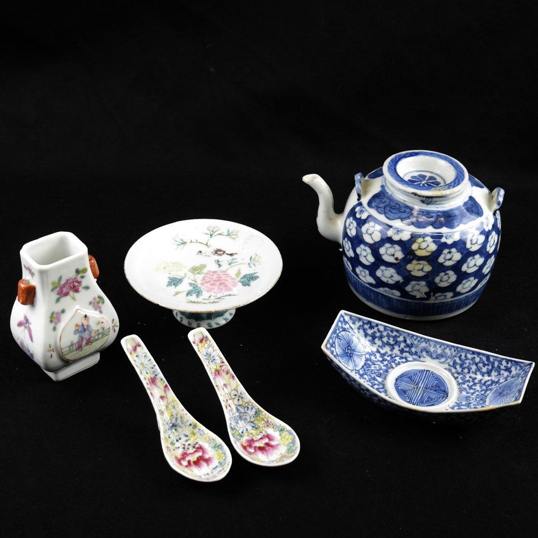 Six Pieces of Asian Porcelain